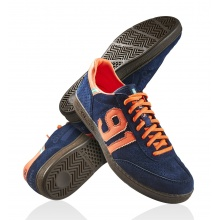 Salming NinetyOne Torwartschuhe navy/orange Herren