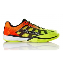 Salming Viper 4 2017 gelb/orange Indoorschuhe Kinder