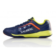 Salming Adder 2017 blau Indoorschuhe Kinder