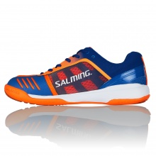 Salming Falco 2018 blau/orange Indoorschuhe Herren
