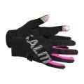 Salming Handschuhe Running 2017 schwarz/pink Damen