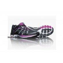 Salming Distance A3 2015 schwarz/violett Laufschuhe Damen