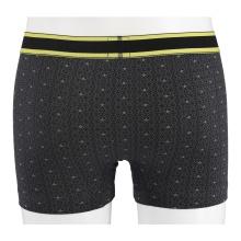 Schiesser Boxershorts Premium Inspiration schwarz/gelb Herren