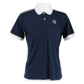 Sergio Tacchini Polo Club Tech 2019 navy/weiss Herren