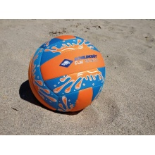Beachvolleyball Neoprene gross blau/orange