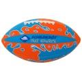 American Football Neoprene orange/blau