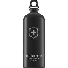 SIGG Trinkflasche Swiss Emblem 1000ml schwarz