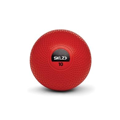 SKLZ Medizinball 4,5kg rot