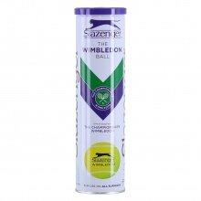 Slazenger Tennisbälle Wimbledon Dose 4er