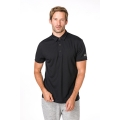 super natural Polo Essential 2018 schwarz Herren