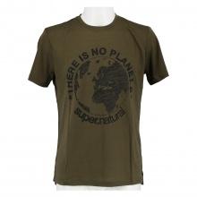 super natural Tshirt Planet olive Herren