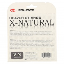 Solinco X Natural schwarz Tennissaite