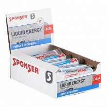 Sponser Liquid Energy BCAA Gel Tube 20x70g Box