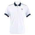 Sergio Tacchini Polo Club Tech 2019 weiss/navy Herren