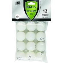 Sunflex Tischtennisball Hobby 12er weiss