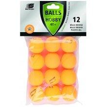 Sunflex Tischtennisball Hobby 12er orange