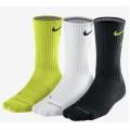 Nike Tennissocken Fly Crew sortiert g/w/s 3er Herren (Größe 38-42)