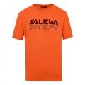 Salewa Tshirt Reflection Dry redorange Herren