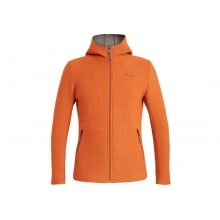 Salewa Hoodie Full Zip Sarner orange Herren