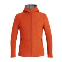 Salewa Kapuzenjacke Sarner Full-Zip (Woll-Mischgewebe) orange Herren