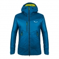 Salewa Winterjacke Ortles 2 TirolWool Celliant 2019 blau Herren