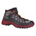 Salewa Wild Hiker Mid GTX schwarz/rot Outdoorschuhe Herren