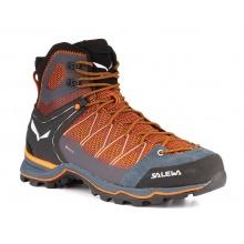 Salewa Mtn Trainer Lite Mid GTX orange/schwarz Trekking-Wanderstiefel Herren