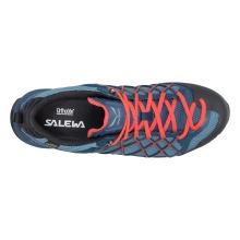 Salewa Wildfire GTX 2018 blau/rot Outdoorschuhe Herren