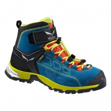 Salewa Alp Player Mid GTX 2017 blau Outdoorschuhe Kinder