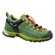 Salewa Alp Player Waterproof grün Outdoorschuhe Kinder