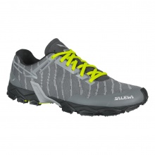 Salewa Lite Train 2017 grau/gelb Outdoorschuhe Herren