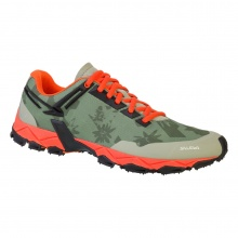 Salewa Lite Train 2017 grün/rot Outdoorschuhe Damen
