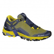 Salewa Ultra Train 2 2018 gelb/blau Outdoorschuhe Herren