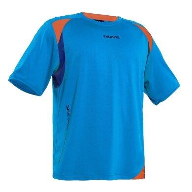 Salming Tshirt Pro Training 2015 cyan Herren