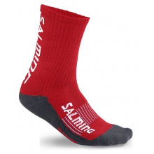 Salming Indoorsocke Advanced rot Herren