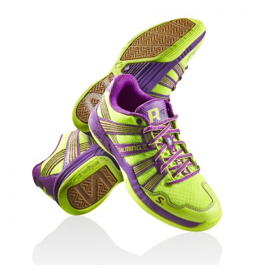 Salming Race R5 3.0 2015 gelb/purple Indoorschuhe Damen