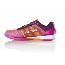Salming Viper 4 purple/orange Indoorschuhe Damen