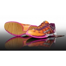 Salming Viper 4 2017 purple/orange Indoorschuhe Damen