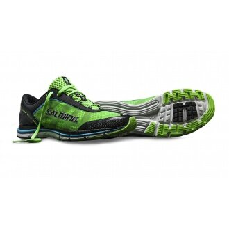 Salming Speed 2014 grün Laufschuhe Herren