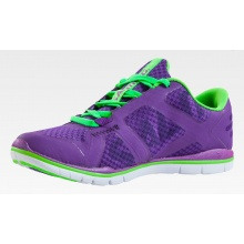 Salming Xplore 2014 purple Laufschuhe Damen