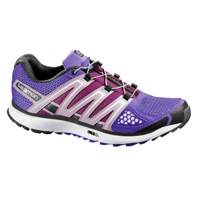Salomon X Scream violett Laufschuhe Damen