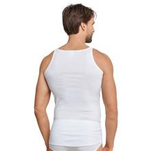 Schiesser Unterhemd Original Feinripp weiss Herren