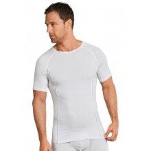Schiesser Funktionsunterwäsche Tshirt Sport Allround weiss Herren