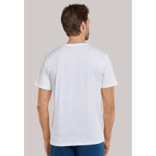 Schiesser Tshirt V-Ausschitt Mix+Relax 1875 weiss Herren