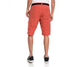 Schöffel Reise-Wanderhose Silvaplana2 kurz (UV-Schutz) rot Herren