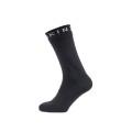 Sealskinz Socke Super Thin Mid wasserdicht schwarz Herren/Damen 1er