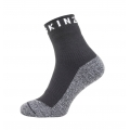 Sealskinz Socke Soft Touch Ankle 2018 wasserdicht schwarz/weiss Herren/Damen 1er