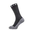 Sealskinz Socke Soft Touch Mid wasserdicht schwarz/weiss Herren/Damen 1er