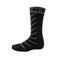 Sealskinz Socke Super Thin Pro Mid mit Hydrostop schwarz Herren/Damen 1er