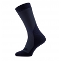 Sealskinz Socke Trekking Thick Mid wasserdicht schwarz/grau Herren/Damen 1er